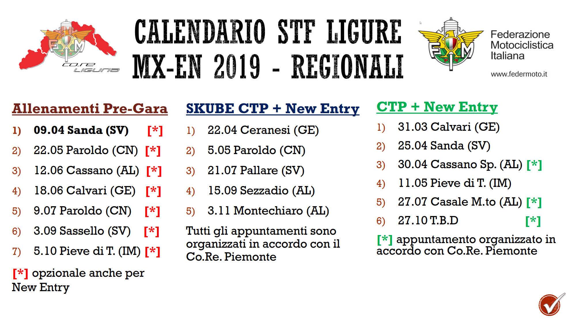 Calendario Regionale Liguria.Calendario Stf R Ligure 2019 V2 1 Small Fmi Comitato